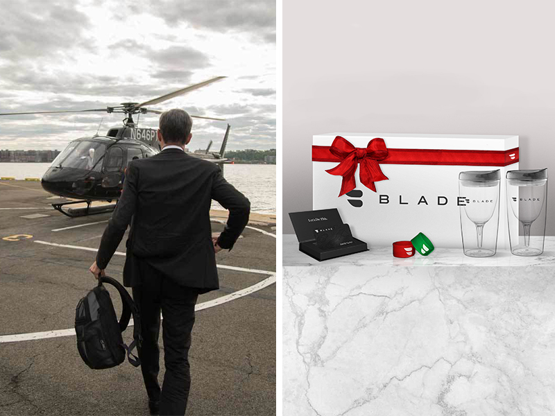 Scheduled BLADE Bounce Airport Transfer with Gift Packaging